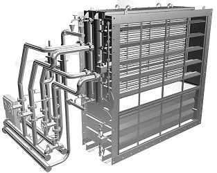 Гпа-ц-16 утилизационный теплообменник два теплообменника или битермический
